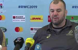 Australia coach Cheika confident Hodge will be cleared [Video]