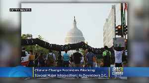 #ShutdownDC | Climate Strike Demonstrations Causing Traffic Woes In Downtown DC [Video]