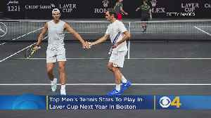 Top Men's Tennis Players Coming To Boston In 2020 For Laver Cup At TD Garden [Video]