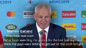 Warren Gatland: Wales were itching to go before victory over Georgia [Video]