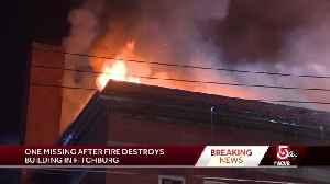 1 missing after fire rips through Fitchburg building [Video]