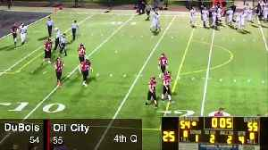 Oil City Player Helps DuBois Player Off Field After Injury [Video]