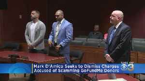 Mark D'Amico Seeks To Dismiss Charges In GoFundMe Scam [Video]