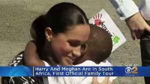 Harry And Meghan Are In South Africa, First Official Family Tour [Video]