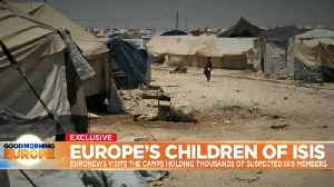 News video: Exclusive: Europe's children of the so-called Islamic State