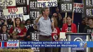 Democratic Presidential Candidate Beto O'Rourke Coming To Pittsburgh [Video]