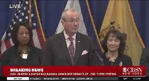 N.J. Gov. Phil Murphy, Mayor Ras Baraka Announce Newark Lead Filter Test Results [Video]