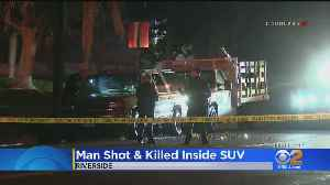 Man Found Shot To Death Inside SUV Parked In Riverside [Video]