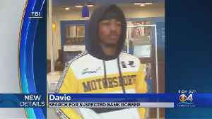 Search On For Davie Bank Robber [Video]