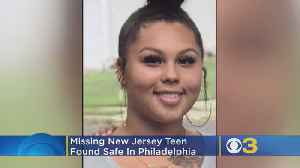 Missing New Jersey Teen Girl Found Safe In Philadelphia [Video]