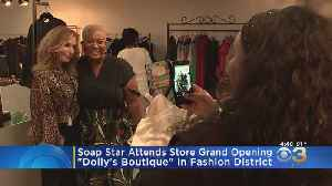 Star Of 'Young And The Restless' Shows Support For Local Store Owner [Video]