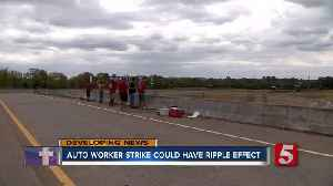 United Auto Workers strike could have ripple effect [Video]