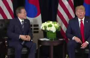 """Trump says """"we'll see"""" about possible third Kim summit [Video]"""