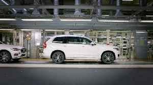 Pre-series autonomous driving ready XC90 rolls off production line [Video]