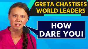 Greta Thunberg makes stinging speech at UN Climate summit OneIndia News [Video]