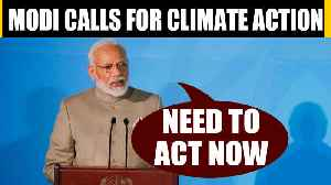 PM Modi speaks at UN climate summit, says time to ACT now |OneIndia News [Video]