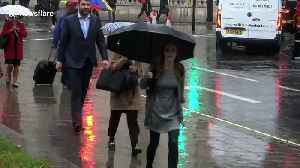 Summer ends with a vengeance as Londoners hit by heavy rain [Video]