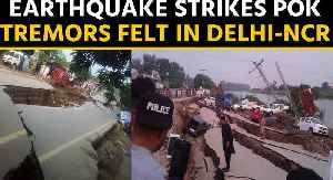 Earthquake strikes PoK, tremors felt in Delhi-NCR [Video]