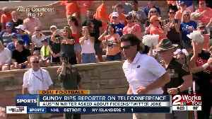 Mike Gundy rips reporter on Big 12 Teleconference [Video]