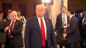 Trump drops by U.N. climate summit [Video]