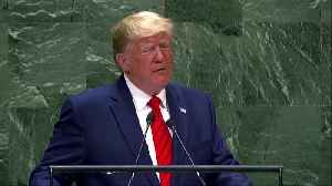 Future does not belong to 'globalists': Trump at the UN [Video]