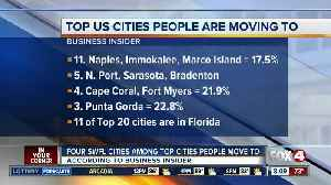 Four SWFL metro areas among most moved-to in America [Video]