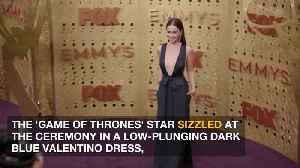 Emilia Clarke channels Jennifer Lopez's Hustlers character Ramona at Emmys [Video]