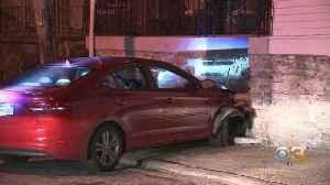 Driver, Passenger Flee Scene Of Early Morning Crash In East Germantown [Video]
