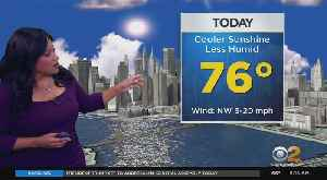 New York Weather: More Comfortable [Video]