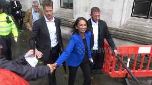 News video: Gina Miller spotted leaving Supreme Court after parliament prorogation ruled unlawful