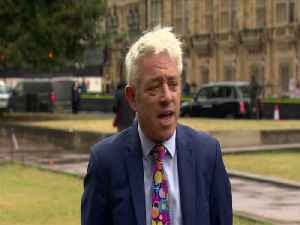 News video: UK House Of Commons To Sit On Wednesday - Speaker Bercow