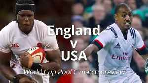 News video: Rugby World Cup: England v USA match preview
