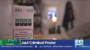 Moneywatch: Juul Being Investigated By The Feds [Video]