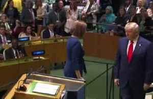 Trump accuses Iran of 'blood lust' in U.N. speech [Video]