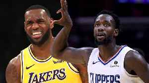 Patrick Beverly Got In Lebron's Face After Lakers LOST to Clippers In Kawhi Signing [Video]