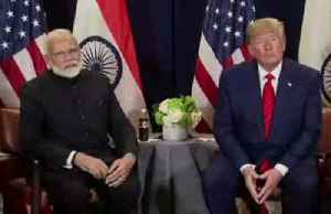 News video: Trump says he sees U.S.-India trade deal soon