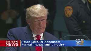 News video: Speaker Pelosi Announces Trump Impeachment Inquiry