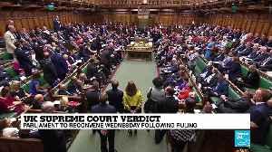 UK Supreme Court overrules Boris Johnson's suspension of Parliament - Duncan Fairgrieve analyses [Video]