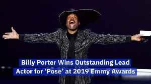 Billy Porter Makes LGBTQ Emmy History [Video]