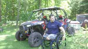 Wounded Veteran Gets Back Behind the Wheel [Video]