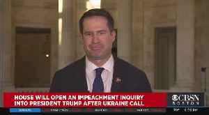 Rep. Seth Moulton On Trump Impeachment Probe [Video]