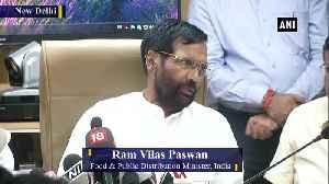 Govt still has 35,000 ton of onion in buffers stock Ram Vilas Paswan [Video]