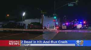 2 Dead Following Hit-And-Run In South LA [Video]