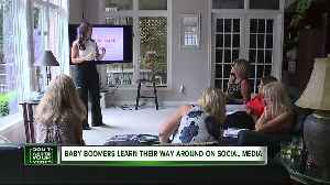 This company is training baby boomers to be social media savvy [Video]
