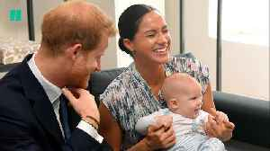 Baby Archie Meets Desmond Tutu On Duke And Duchess Of Sussex's Tour Of South Africa [Video]