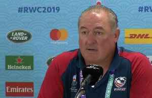 Coach Gold says the USA will feel no pressure when they take on England in the Rugby World Cup [Video]