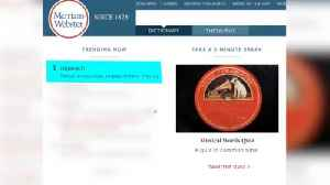 """Searches of The Word """"Impeach"""" Increase In The Merriam Webster Dictionary [Video]"""