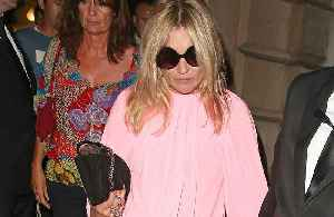 Kate Moss' collaboration sparked by bad weather [Video]
