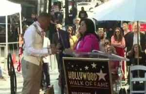 Actor Terrence Howard receives star on the Hollywood Walk of Fame [Video]