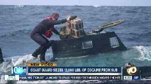 Coast Guard stops sub, seizes cocaine [Video]
